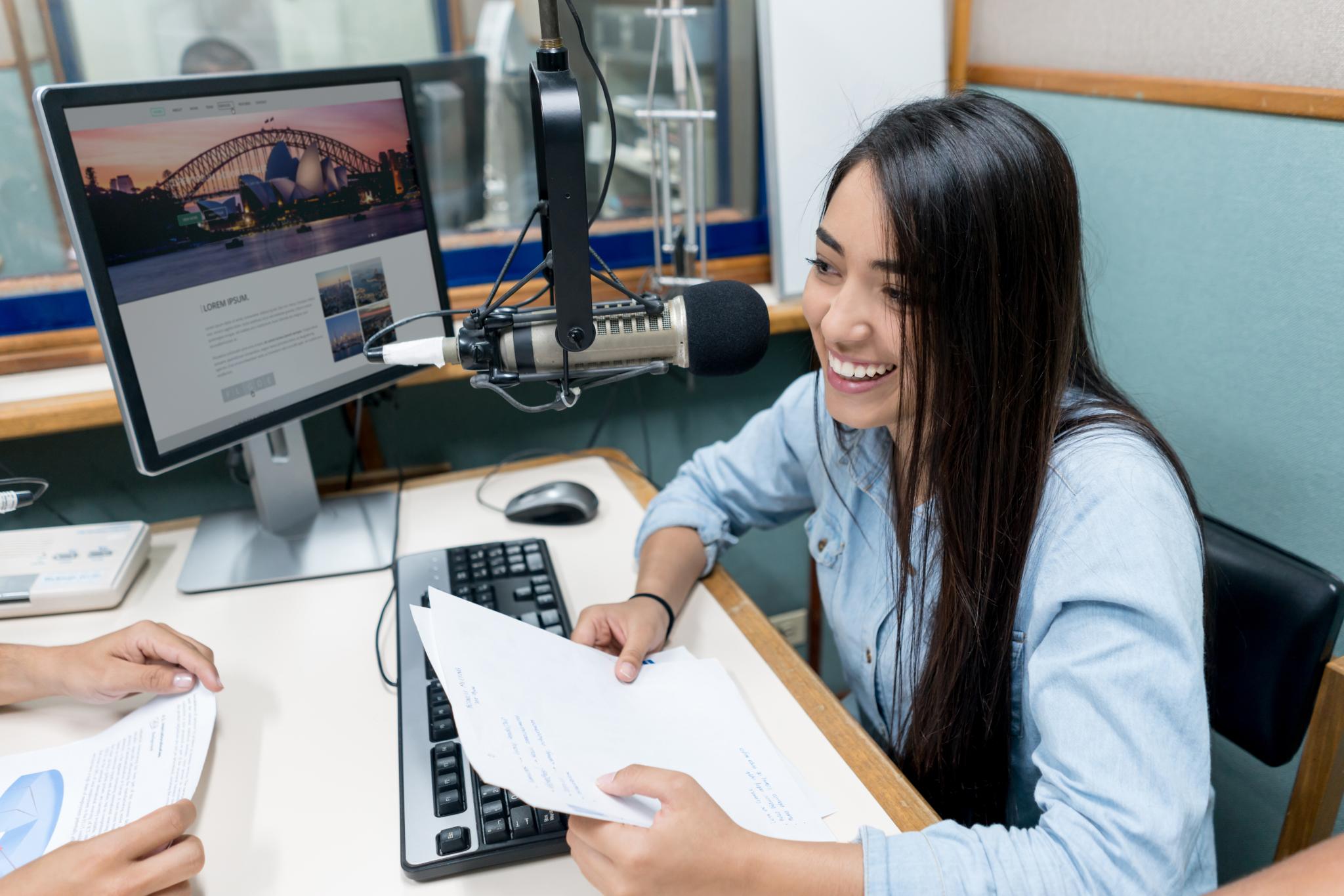 Sydney Radio, Journalism and Media sample class