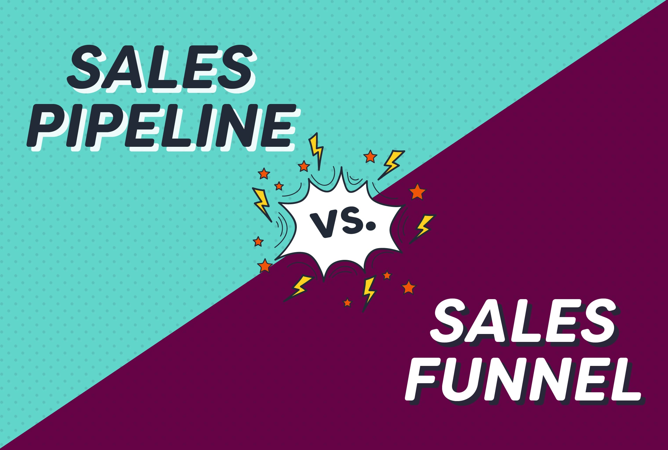 Do you know the difference between a sales pipeline and a sales funnel?