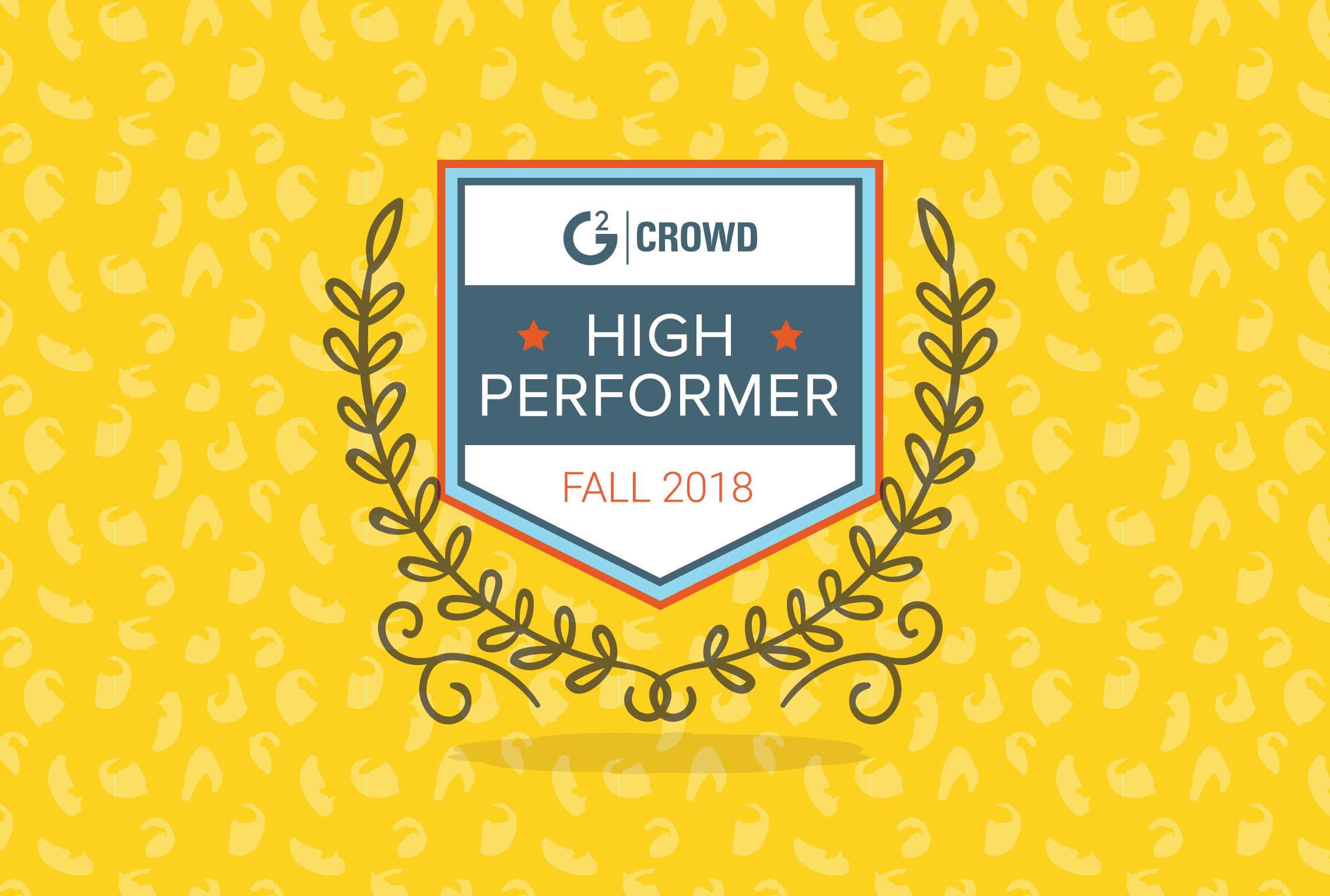 And another one! Nutshell earns 'High Performer' award in G2 Crowd's Fall 2018 CRM rankings