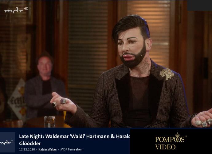 Late Night: Waldemar 'Waldi' Hartmann & Harald Glööckler