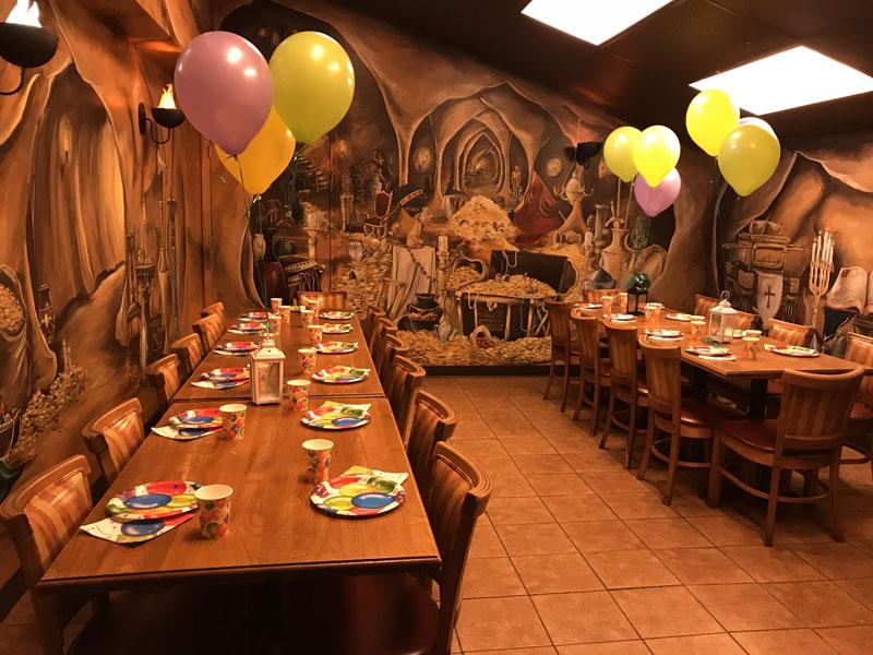 Treasure Cove birthday party