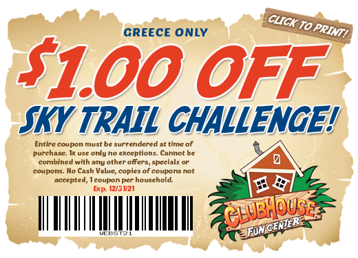 $1 off Sky Trail Challenge