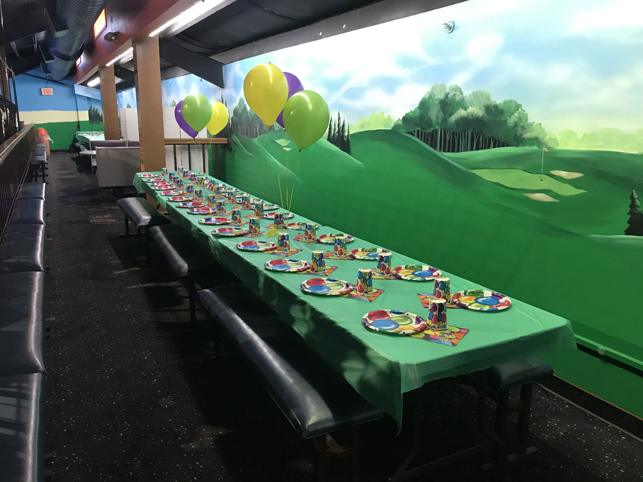 Kids party in the Loft