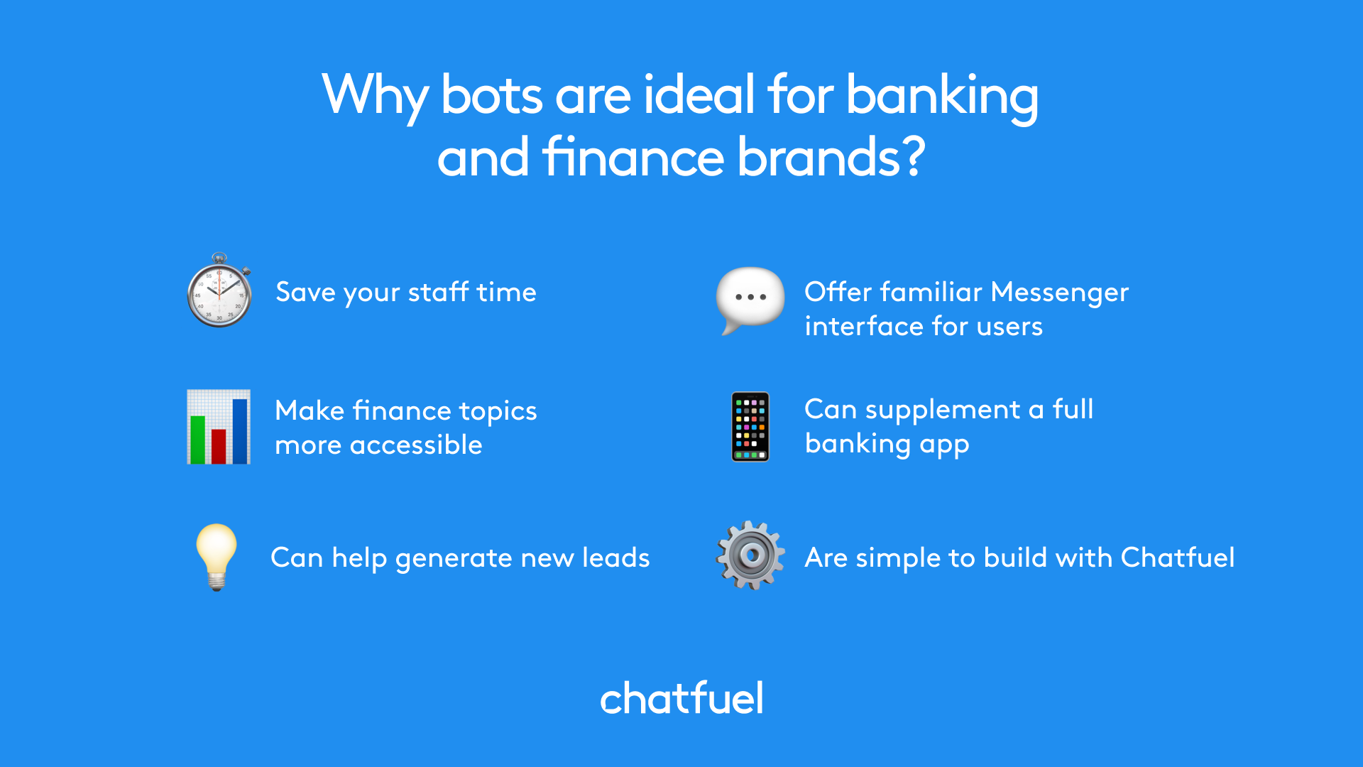 chatbots for banking and finance businesses