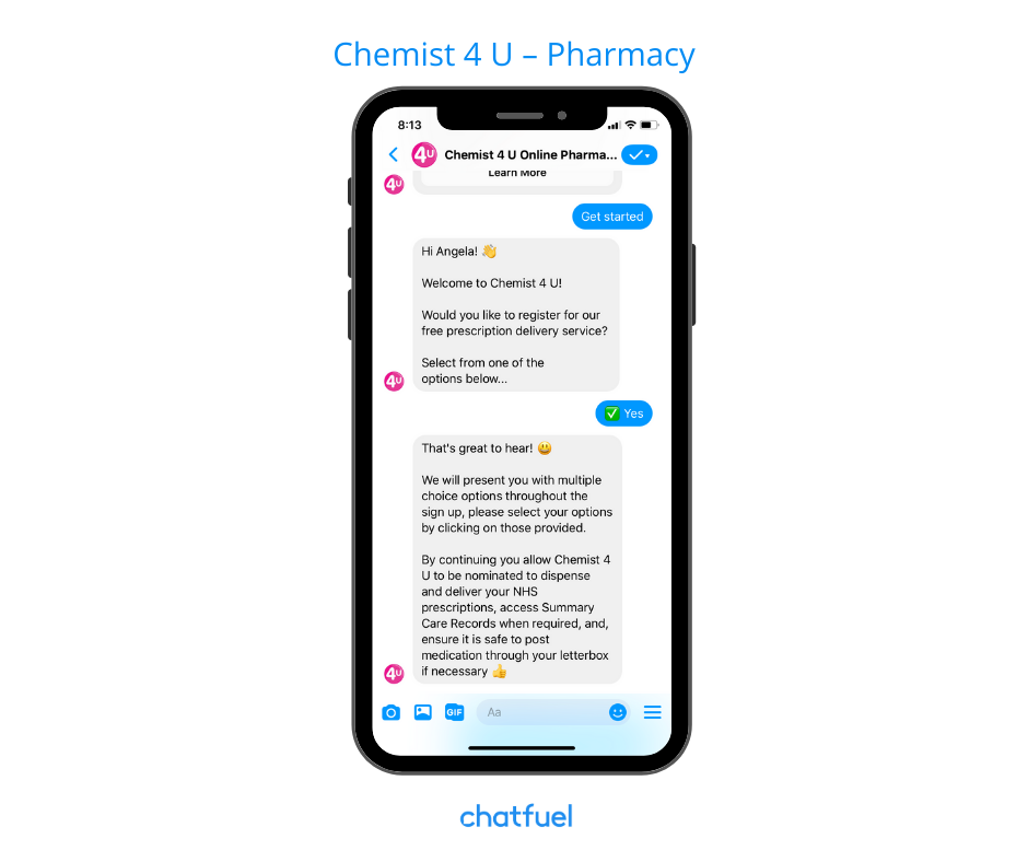 Chatbot or pharmacy