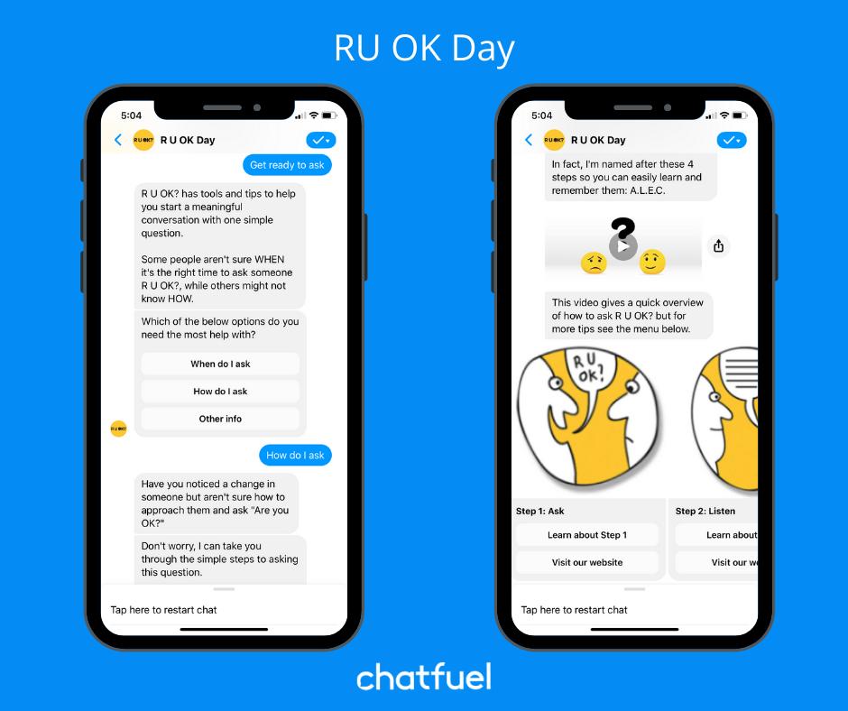 Nonprofit chatbot examples