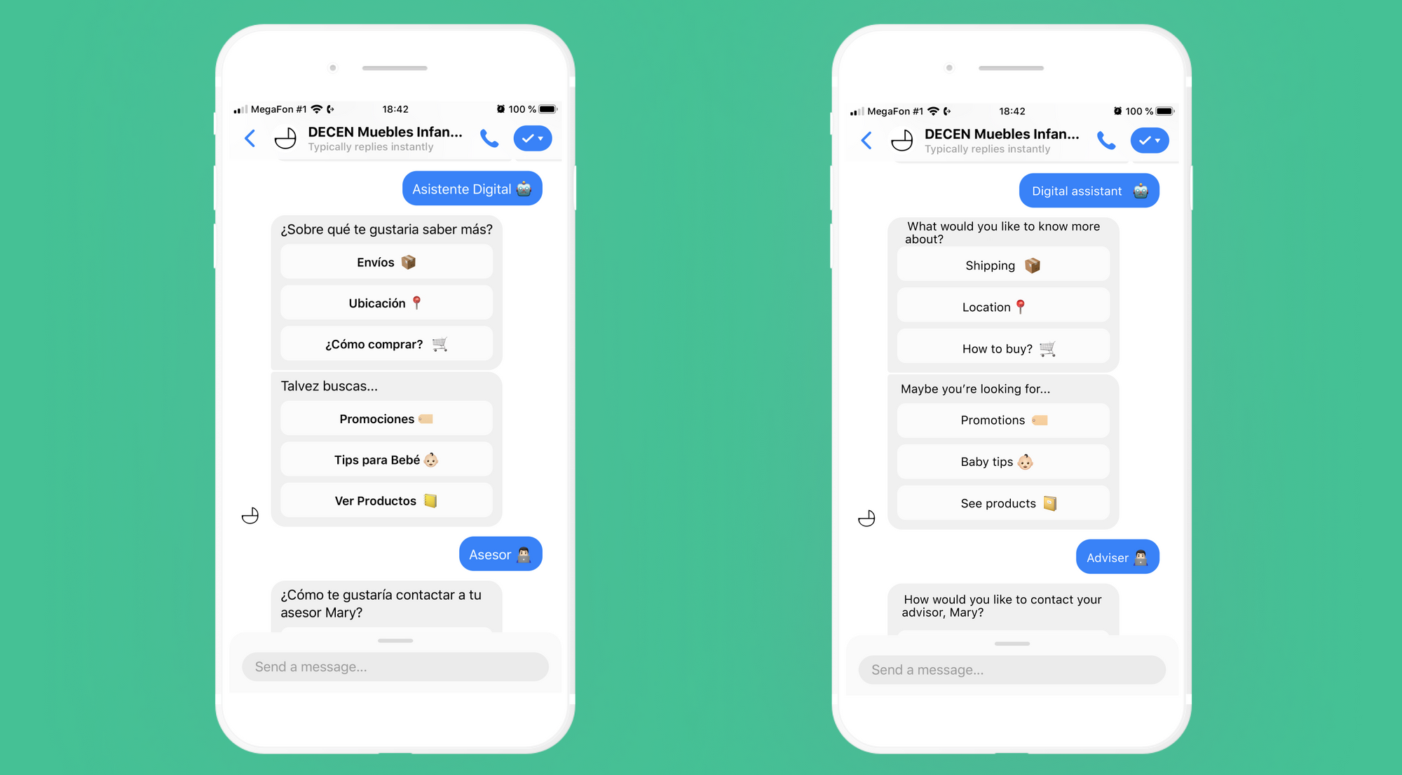 FAQ functionality into their chatbot
