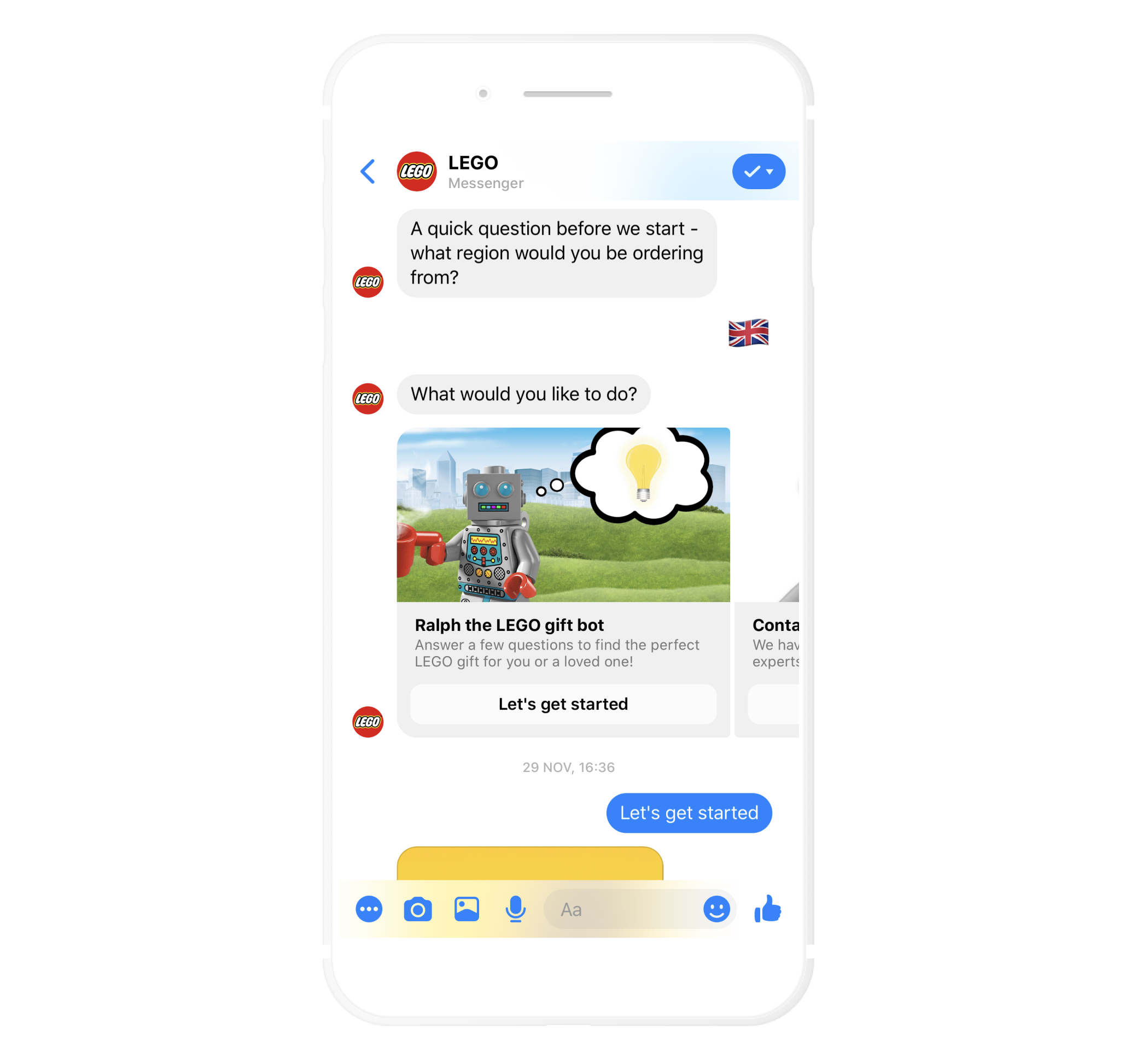 Effective welcome message in your chatbot