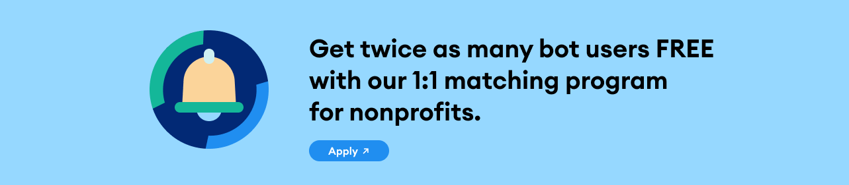 nonprofit chatbot for nonprofit organizations