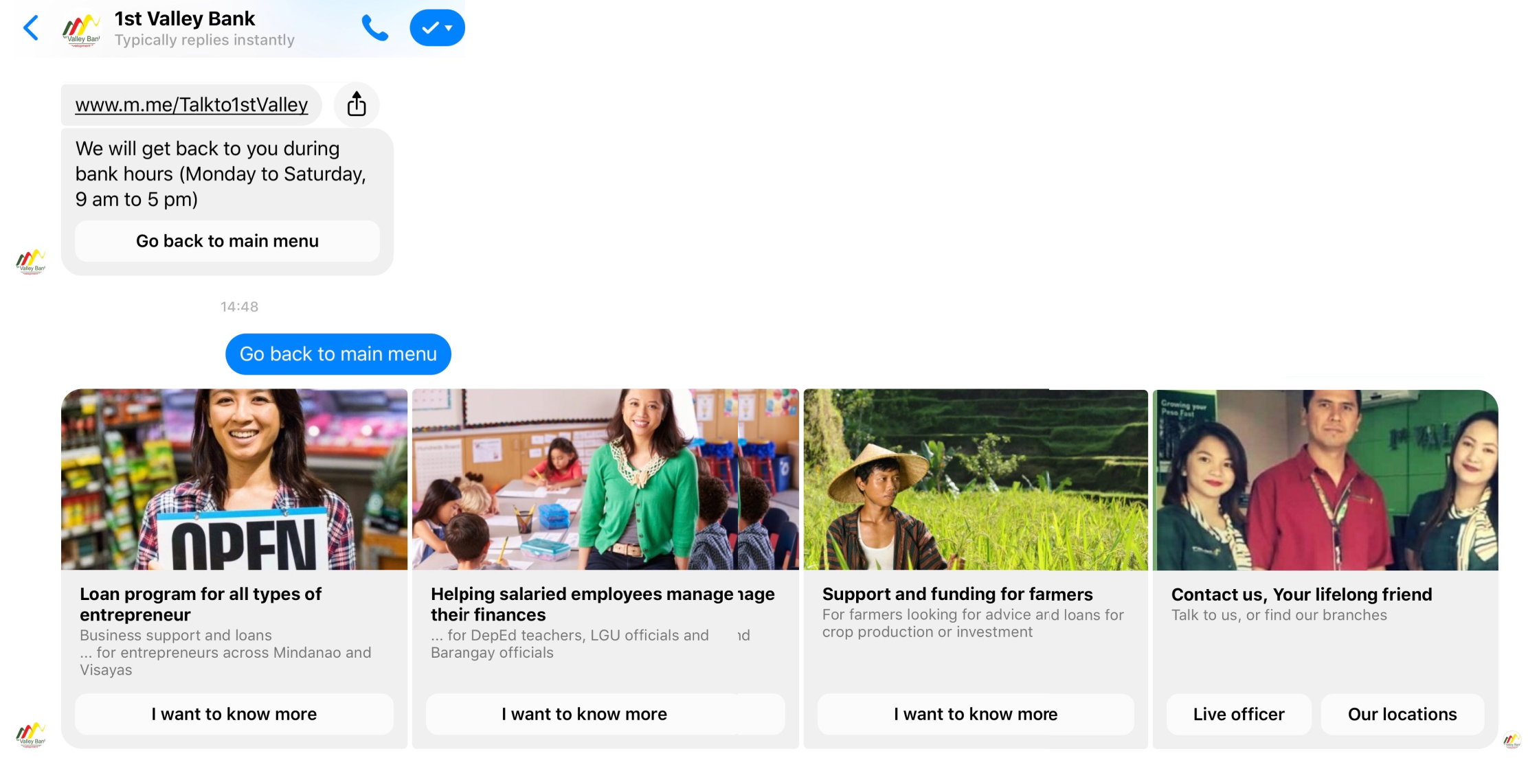 chatbot for banks