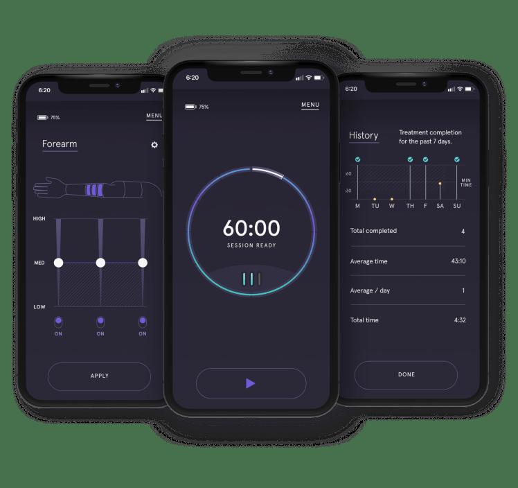 Dayspring Koya app custom treatment options