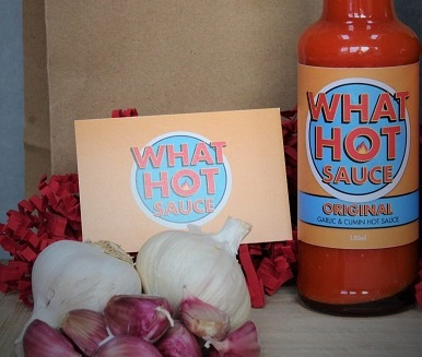 What hot sauce range available at the Essex Produce Co. in Kelvedon, Essex.