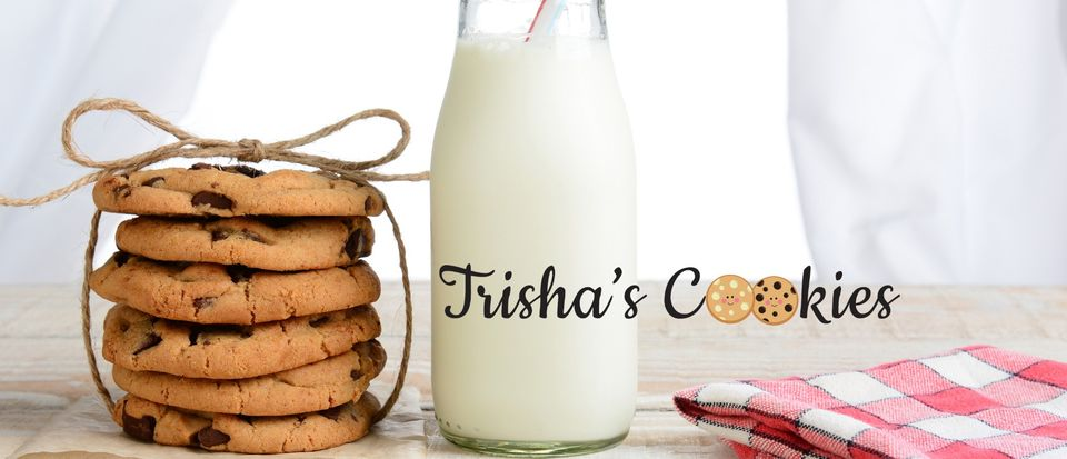 Trisha's cookies available at the Essex Produce Co. in Kelvedon, Essex.