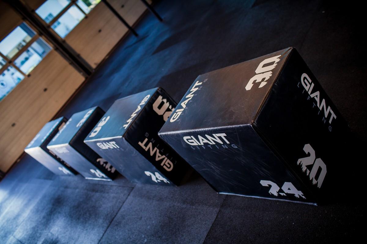 Box Jumps at DOXSA Fitness Gym