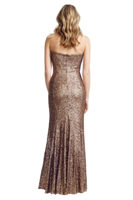 George - Adrina Gown - Front - Brown