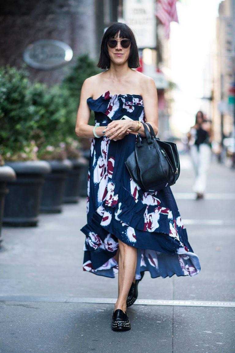 New York Fashion Week spring street style 2017