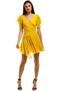 bec_bridge-hibiscus-golden-mini-dress-marigold-print-front