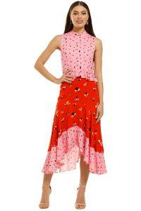 rebecca-vallance-ruby-ruffle-dress-multi-front