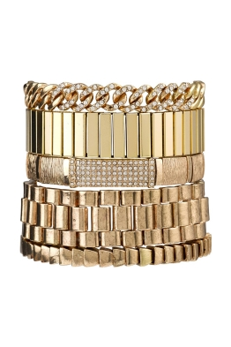Samantha Wills - Your Warm Whispers Bracelet Set - Gold - Front
