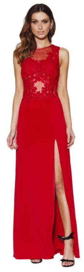grace and hart scarlet gown