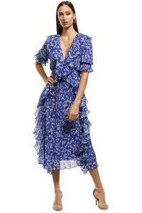 talulah-mediterranean-minx-midi-dress-blue-floral-front