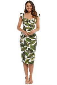 pasduchas_-_vineyard_bustier_midi_dress_-_tropical_print_-_front