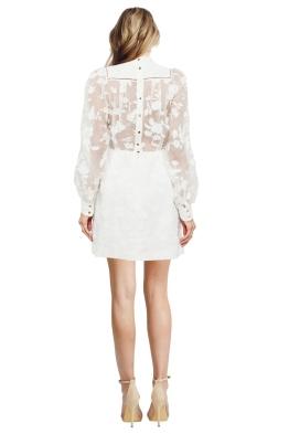 Zimmermann - Mischief Manor Dress - Pearl - Front