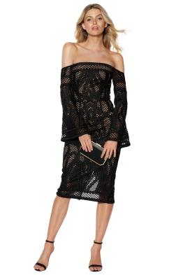 Thurley - Sonnet Strapless Dress - Front - Black