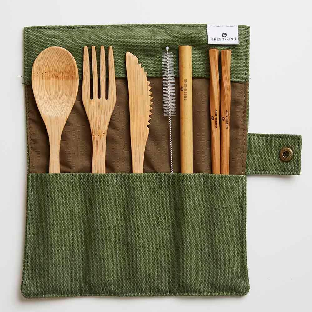 green-kind-bamboo-cutlery-set-flora-and-fauna-product