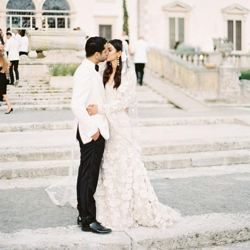 BLACK TIE WEDDING DRESS BRIDES