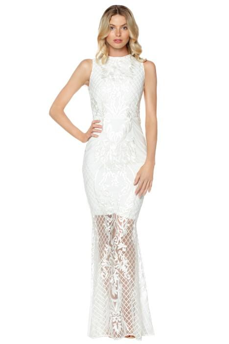 Grace & Hart Ignite Passion Gown - White Winter