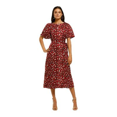 cooper-st-walk-this-way-flared-sleeve-maxi-dress-red-front