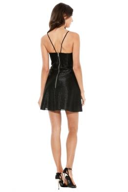 Alex Perry - Laurene Dress - Front - Black