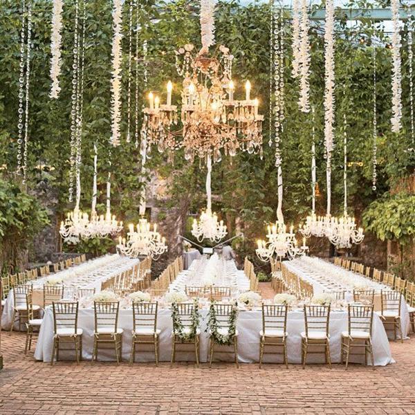 beautiful outdoor wedding venue