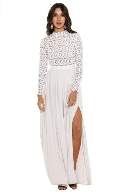 self_portrait_-_white_crochet_pleated_dress_-_front