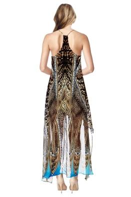Camilla - Rapturous Split Front Dress with Long Back