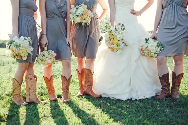 spring and summer wedding - country wedding