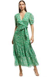talulah-green-with-envy-midi-dress-green-front