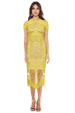Thurley - Hollyhock Midi Dress - Front