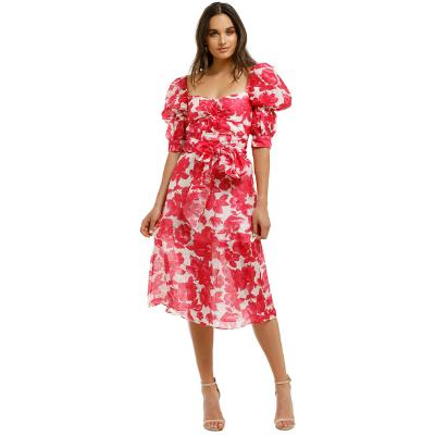 summer-wedding-cocktail-talulah-martini-midi-dress-floral-pink-front