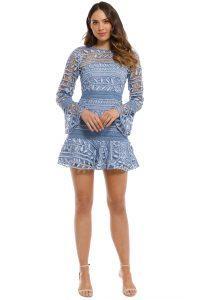 talulah-caprice-mini-dress-blue-front