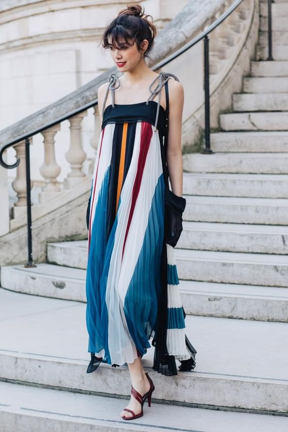 See the best looks seen by Sandra Semburg on the streets of Paris between the shows at Paris Fashion Week Fall