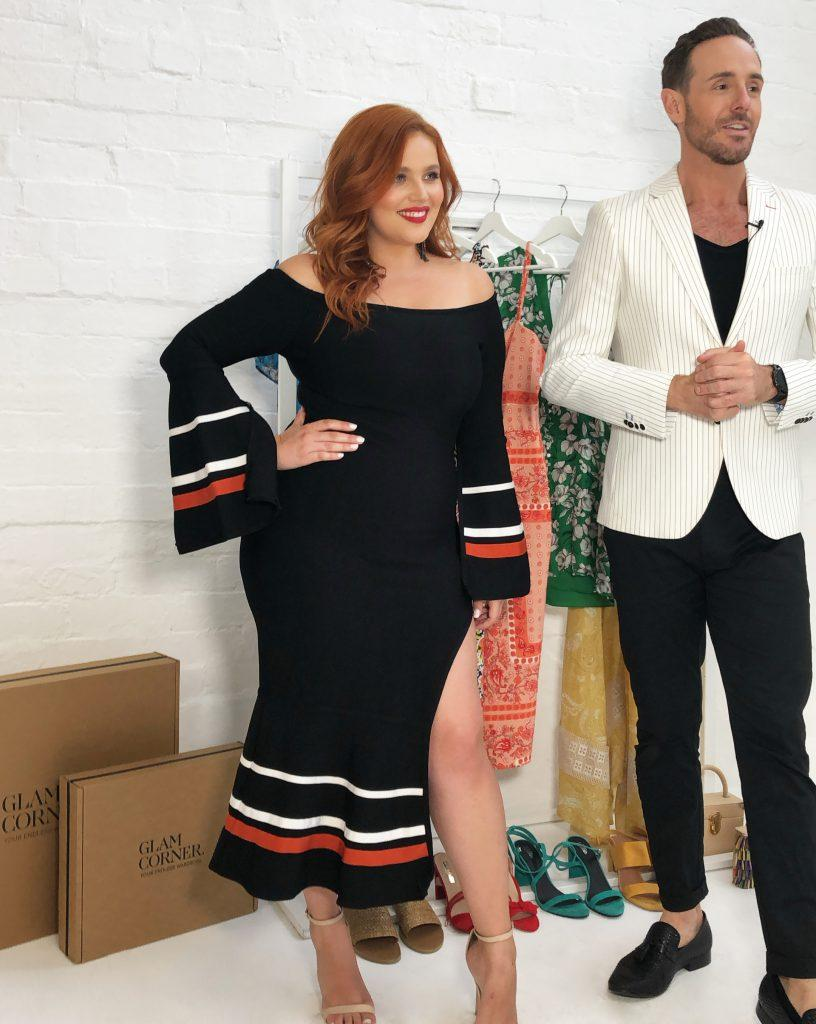 curvy-women-figure-elliatt-bliss-dress-black