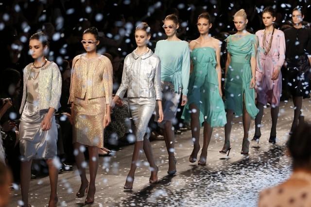 fashion week runway