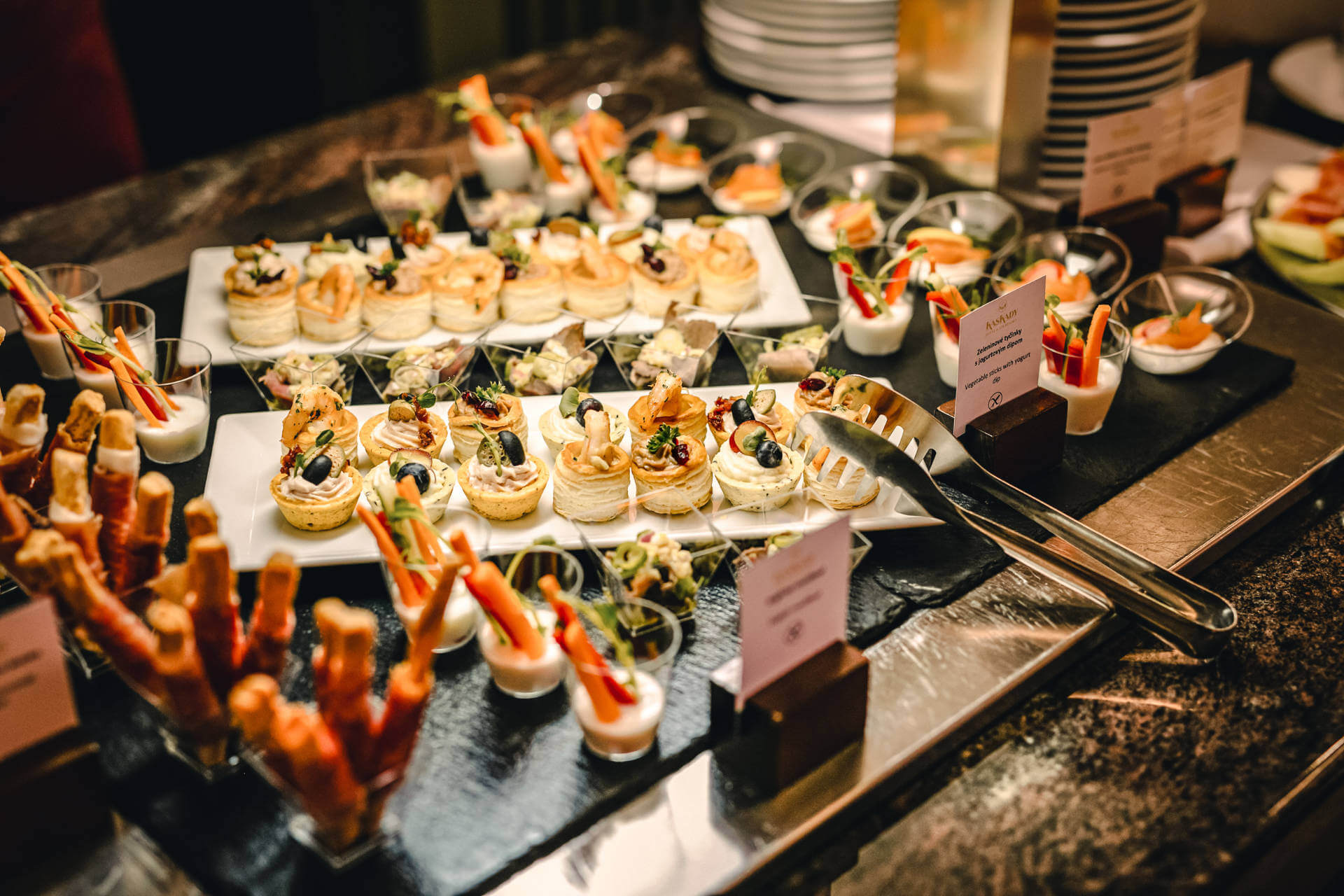 Hotelová reštaurácia Kaskady - gastro