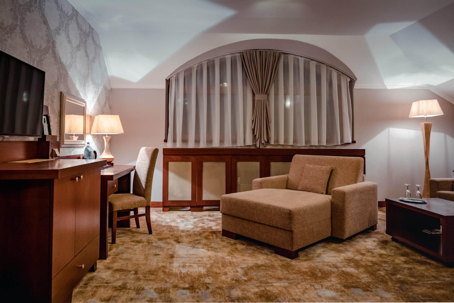 Ubytovanie v resorte Kaskady