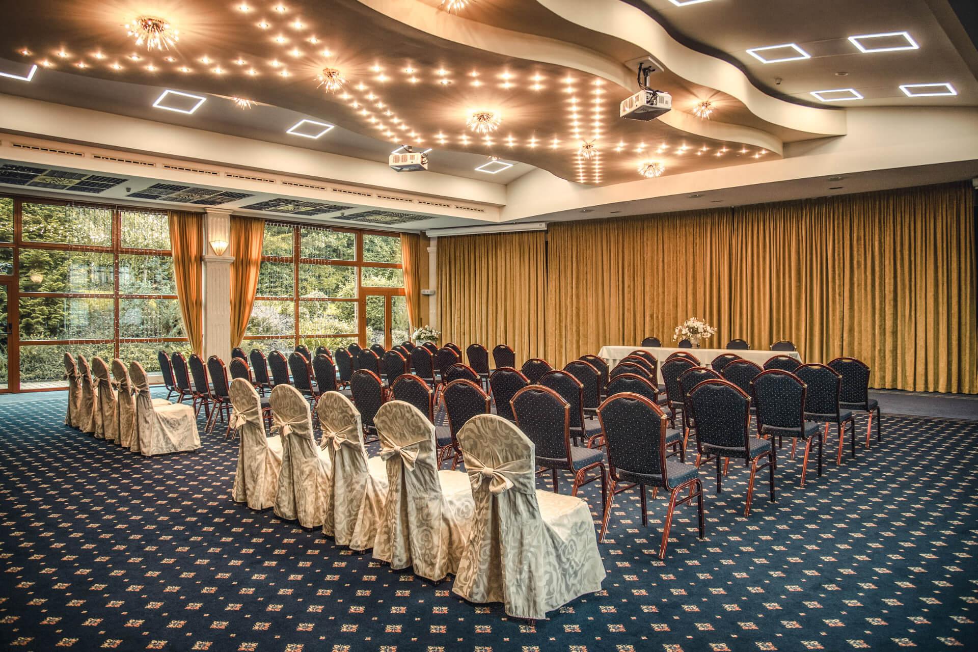 Svadobná miestnosť Palas Atena Kaskady