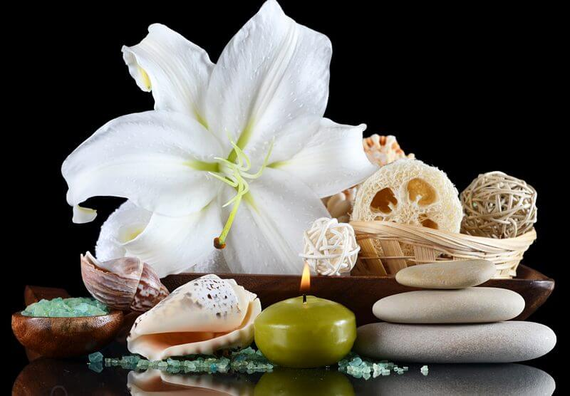 Massage with peeling effect