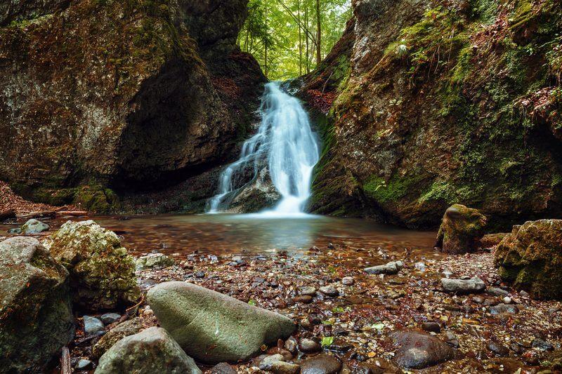 Educational path králická tiesňava – waterfall