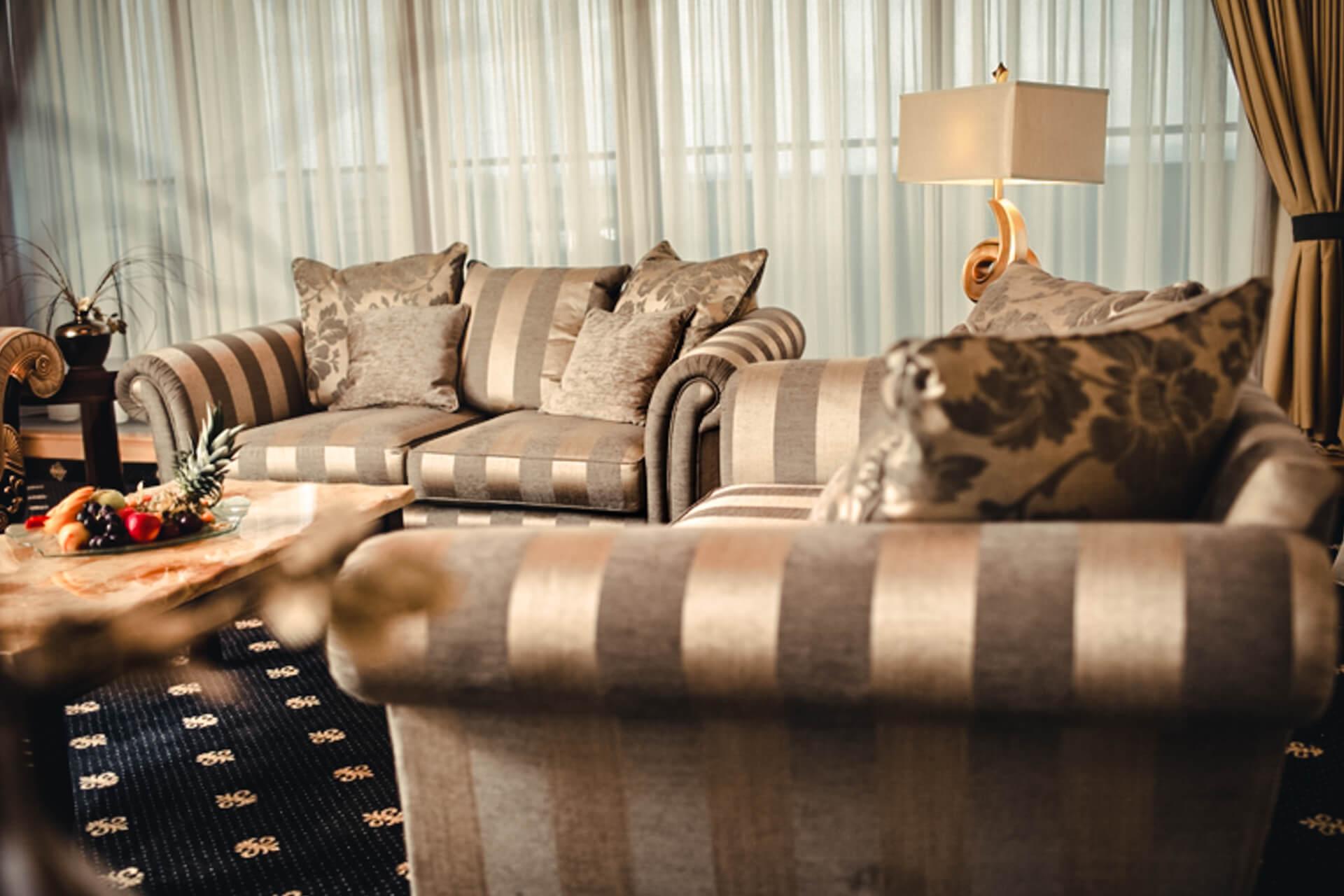 3-rooms suite in Lux design
